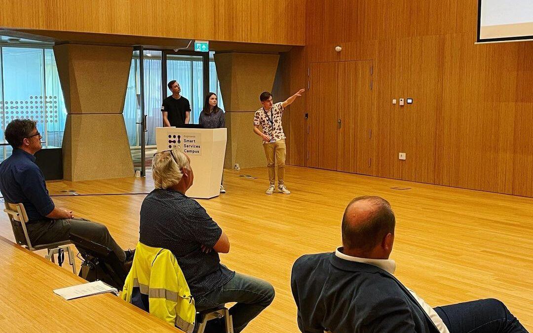 Wethouder Geilen (Sittard-Geleen) te gast bij presentatie minor Data Science